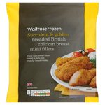 Waitrose Frozen Breaded Chicken Breast Mini Fillets