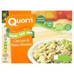 Quorn Chicken & Pesto Risotto