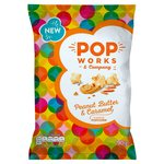 Popworks Peanut Butter & Caramel Popcorn