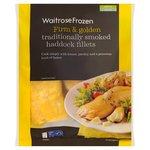 Waitrose 4 Smoked Haddock Fillets Frozen