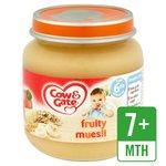 Cow & Gate Fruity Muesli Jar 6 Mths+