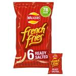 Walkers French Fries Ready Salted Crisps 18g x