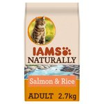 Iams Naturally Adult Cat with North Atlantic Salmon & Rice
