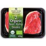 Pure Irish Organic 2 Rump Steaks