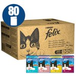 Felix Adult Cat Food Variety Pouches