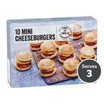 Picard 10 Mini Cheeseburgers Frozen