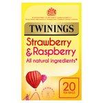 Twinings Strawberry & Raspberry Tea Bags