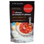 Pizzado Cheese & Tomato Pizza Kit