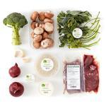 Wholegood Organic Recipe Box Beef & Mushroom Stroganoff