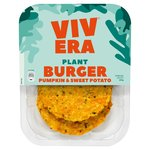 Vivera 2 Pumpkin & Sweet Potato Burgers