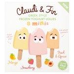 Claudi & Fin 8 Minis Greek Style Frozen Yoghurt Lollies