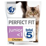 Perfect Fit Cat Complete Junior Chicken