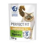 Perfect Fit Cat Complete Sensitive Turkey