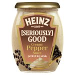 Heinz Seriously Good Condiments Creamy Pepper