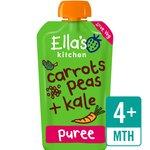 Ella's Kitchen Organic Carrots, Peas & Kale