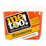 Me Too! Foods Red Pepper Houmous