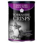 Yorkshire Crisps Sweet Cured Ham & Pickle Luxury Crisps