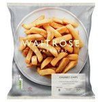 Waitrose Frozen Crispy Chunky Oven Chips