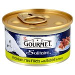 Gourmet Solitaire Premium Fillets With Rabbit