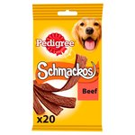 Pedigree Schmackos Dog Training Treat Beef