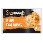Sharwood's Naan Mini Plain