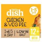 Little Dish Chicken & Butternut Squash Pie