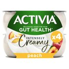 Activia Intensely Creamy Peaches & Cream Yogurts