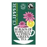 Clipper Green Tea with Citrus & Echinacea