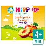 HiPP Organic Purely Fruits Apple, Peach & Mango
