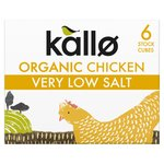 Kallo Organic Very Low Salt Chicken Stock Cubes