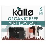 Kallo Organic Very Low Salt Beef Stock Cubes