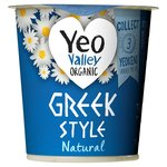 Yeo Valley Organic Natural Greek Style Yogurt