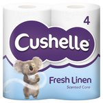 Cushelle Fresh Linen Scented Toilet Rolls