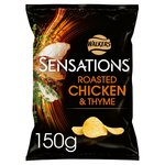 Sensations Roasted Chicken & Thyme Crisps
