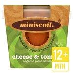 Miniscoff Cheese & Tomato Organic Sauce