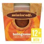 Miniscoff Bolognese Organic Sauce