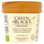 Green & Black's Organic Vanilla, Caramel & Nut Ice Cream