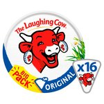 The Laughing Cow Original Cheese Triangles 16 per pack
