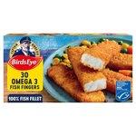 Birds Eye 30 Omega Fish Fingers
