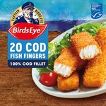 Birds Eye 18 Cod Fish Fingers Frozen