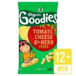 Organix Organic Goodies Tomato, Cheese & Herb Puffs
