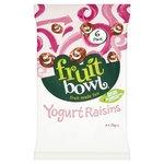 Fruit Bowl Fruit Flakes Yoghurt Raisins