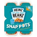 Heinz Reduced Sugar & Salt Beans Snap Pots