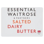 Salted Dairy Butter essential Waitrose