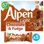 Alpen Light Bars Choc & Fudge