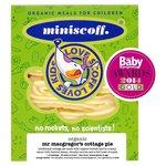 Miniscoff Organic Mr MacGregor's Cottage Pie Frozen