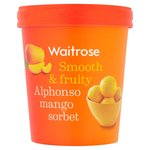 Alphonso Mango Sorbet Waitrose