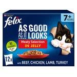Felix As Good As It Looks 7+ Meat In Jelly