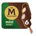 Magnum Mini Ice Cream Classic, Mint & Dark