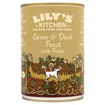 Lily's Kitchen Proper Dog Food Goose & Duck Feast with Fruits